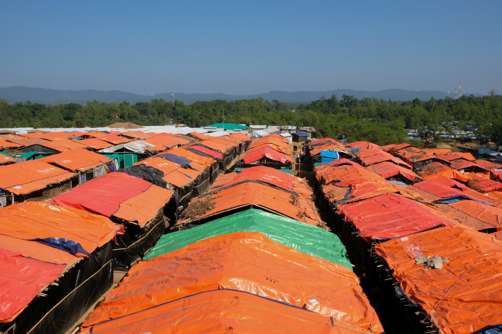 Kutupalong Camp in Bangladesch