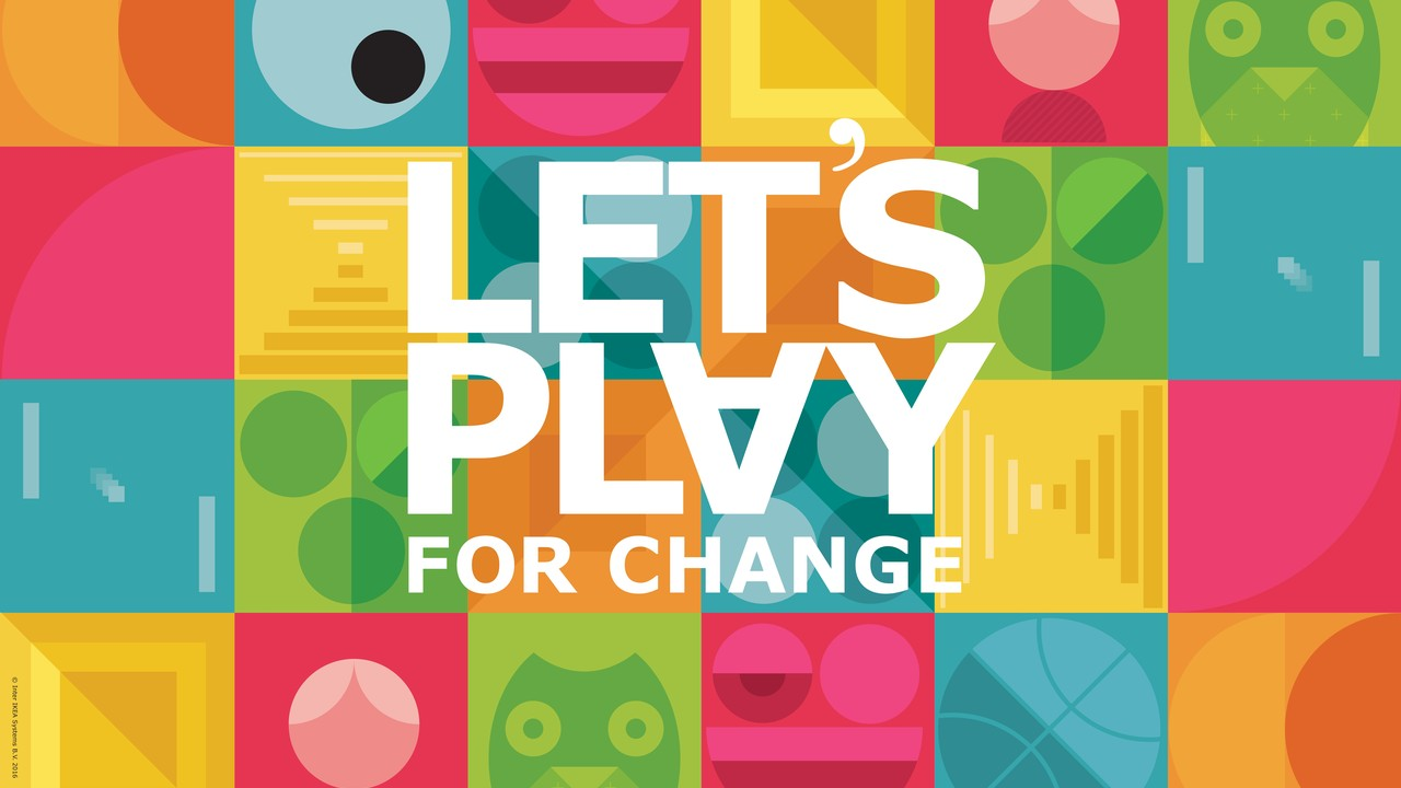 Logo Ikea LET'S PLAY FOR CHANGE