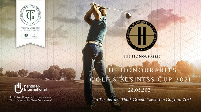 Die nächste Veranstaltung: the Honourables Golf & Business Cup zugunsten Handicap International am 25.06.2020